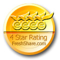 4 Stars on FreshShare.com